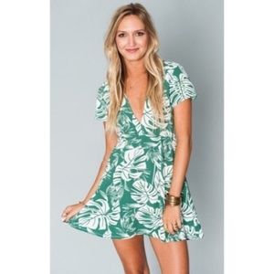Show Me Your Mumu Ibiza Dress Boca Raton Leaves